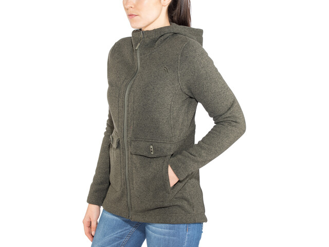 The North Face Crescent Parka Femme, new taupe green heather